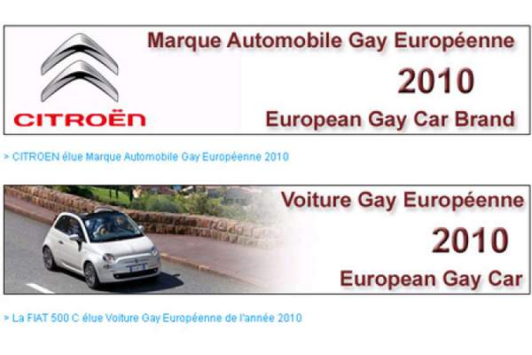 Citroen Marque Gay 2010
