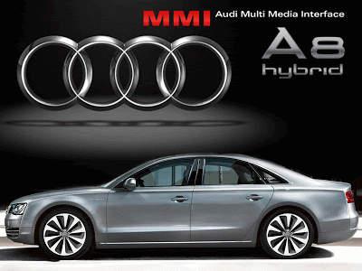 Audi A8 Hybride pour concurrencer BMW