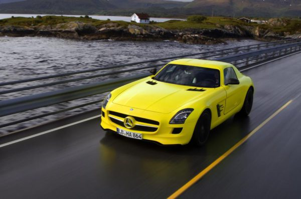 Mercedes-Benz SLS e-Cell supercar électrique
