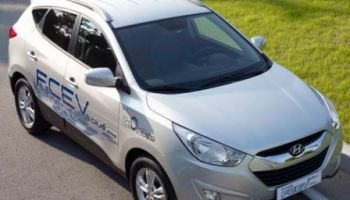 Hyundai IX 35 pile à combustible.
