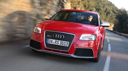 Nouvelle Audi RS3 2011 5 cylindres 340 ch
