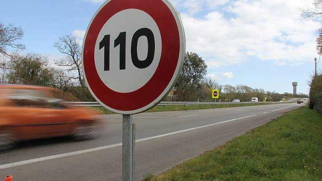 Vitesse à 110 km/h en Espagne