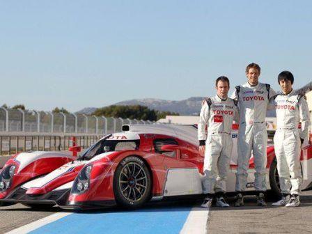 Endurance presentation de la Toyota LMP1 Hybride