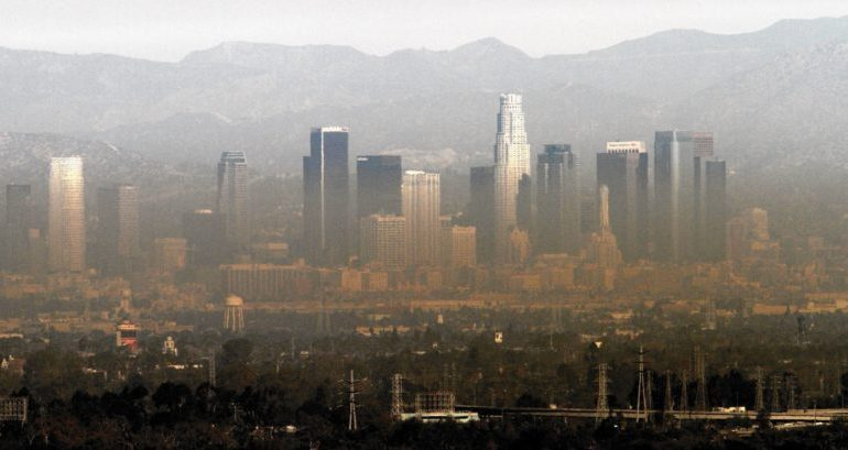 Pollution en Californie