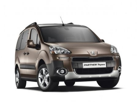 Nouveau Peugeot Partner Tepee 2012