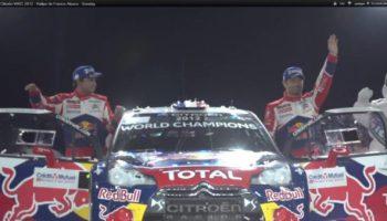 Sebastien Loeb semi retraité en 2013 gagne son 7° Monte Carlo