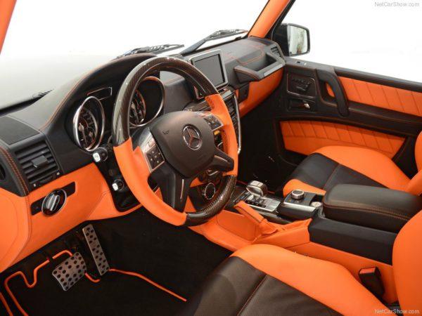 Brabus Mercedes Classe G B63 - 620 ch on a le droit de ne pas aimer les couleurs...