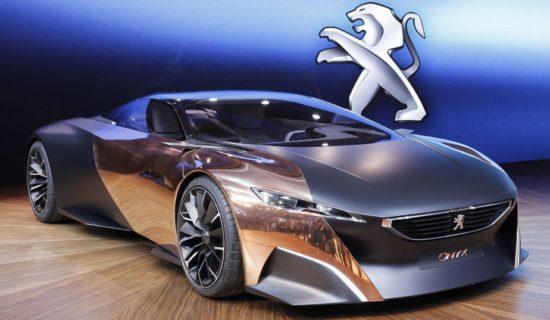 Essais concept car hybride Peugeot Onyx