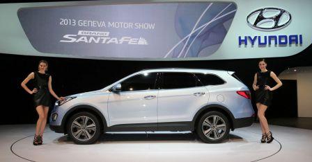 Hyundai Grand Santa Fe 2013 vidéo