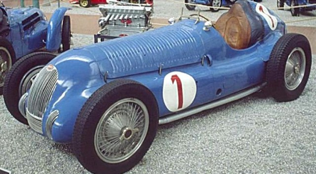 Voiture de Collection Bugatti Type 50 B