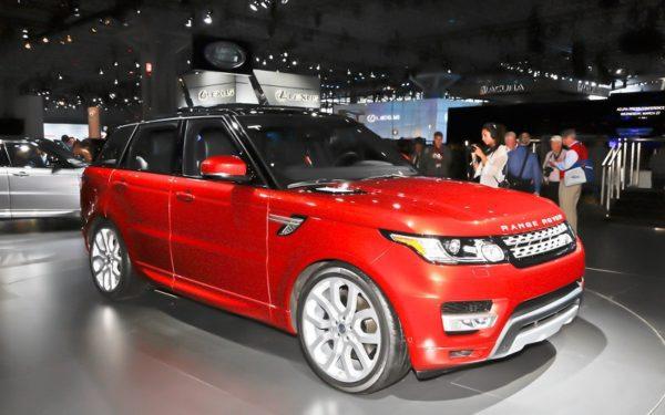 Nouveau Range Rover Sport 2014 en septembre 2013