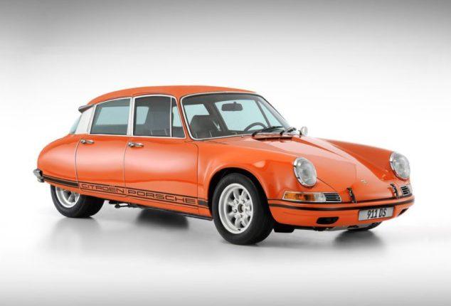 911DS Citroen Porsche
