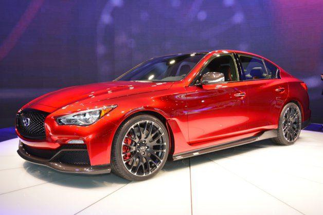 Infiniti Q50 Eau Rouge Concept Car