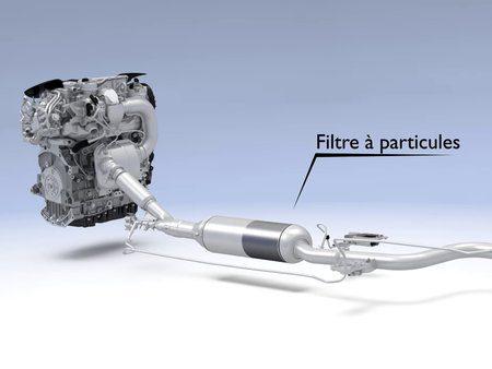 Le filtre à particules pour moteur a essence est prêt