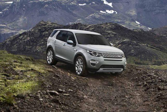 Land Rovert Discovery sport 2015