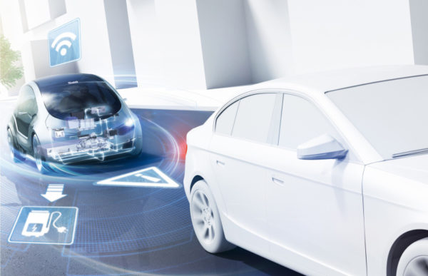 Bosch tente de faire parler les voitures pour réduire les embouteillages et améliorer la sécurité.