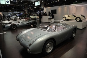 Voitures de collection au Salon Retromobile 2015