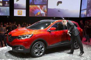 Renault Kadjar en Juin 2015 à partir de 22000 €