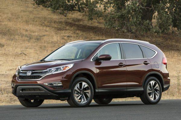 Face à ses concurrents Mazda, Toyota, et Volkswagen le Honda CR-V 2015 affiche le malus le moins élevé.