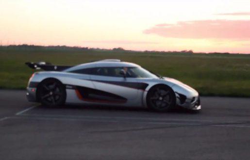 """La Koenigsegg One établie un nouveau record du monde sur le 0-300-0 en 17""""95"""
