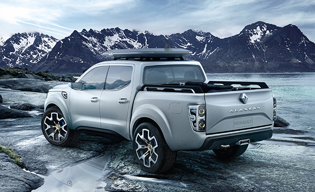 Concept-Car Pick-up Renault Alaskan