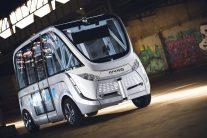 Navya Arma: Peut être utilisé comme un bus ou un taxi à la demande
