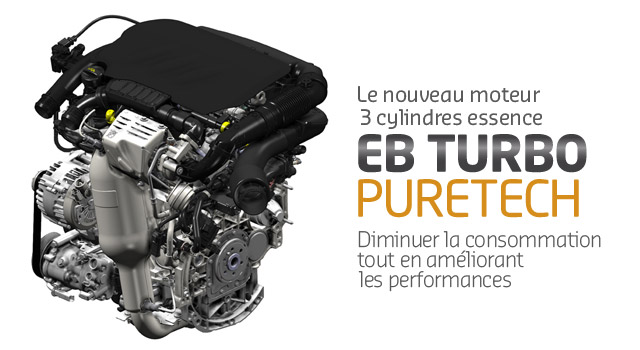 Moteur Puretech Citroen essence