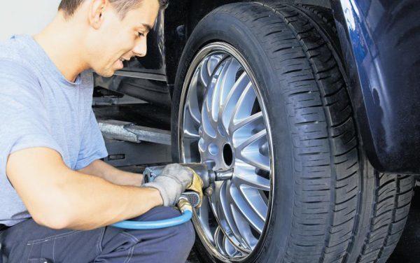 Remplacement pneu