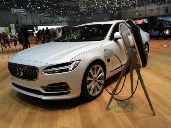 Voiture électrique Volvo à partir de 2019