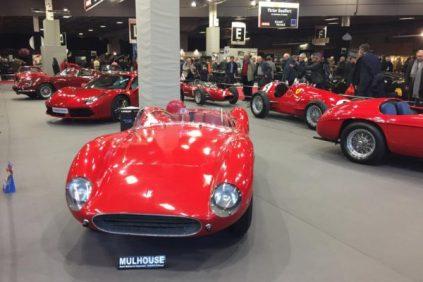 Ferrari a fété ses 70 ans au salon Retromobile 2017