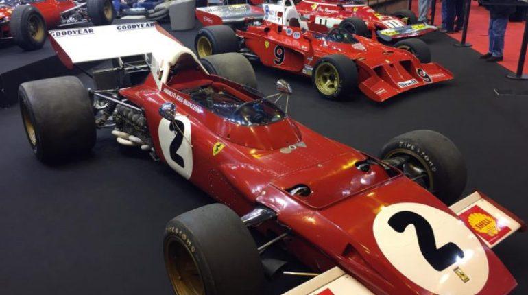 Formule 1 Ferrari 312 B2 et 2 Ferrari 312 B3