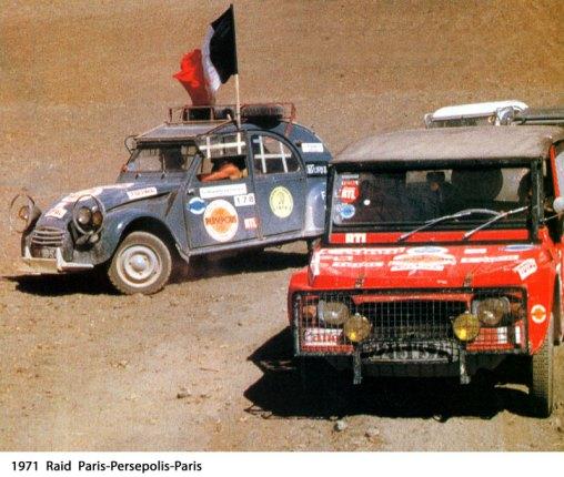 Raid Paris Persepolis Paris 1971