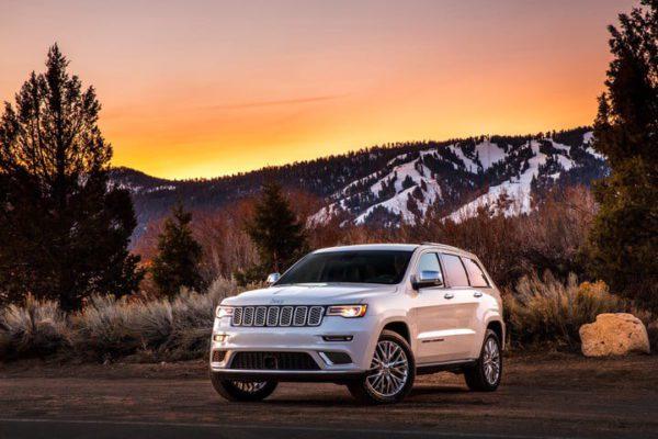 Meilleures voitures pour la neige 2018 jeep grand cherokee