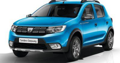 Voitures pour moins de 120 € par mois - Dacia Sandero