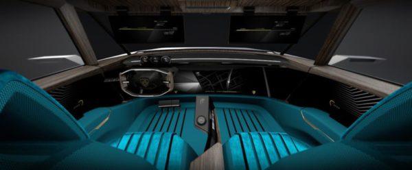 Un meilleur aperçu des écrans de l'e-Legend (Crédit: Peugeot)