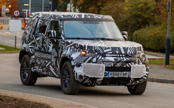 Photos «spyshot» de Land Rover Defender 2018