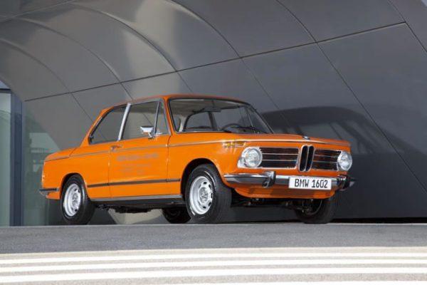 Histoire de la voiture élecrique : BMW 1602 électrique