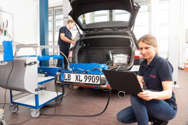 La nouvelle technologie Bosch de moteur diesel propre réduit considérablement les émissions de NOx diesel