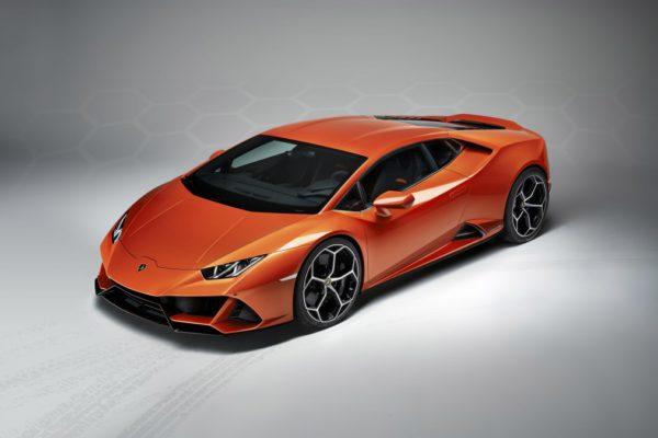La lamborghini Huracan Evo sera présentée au salon de l'automobile de Genève 2019 (c) Lamborghini