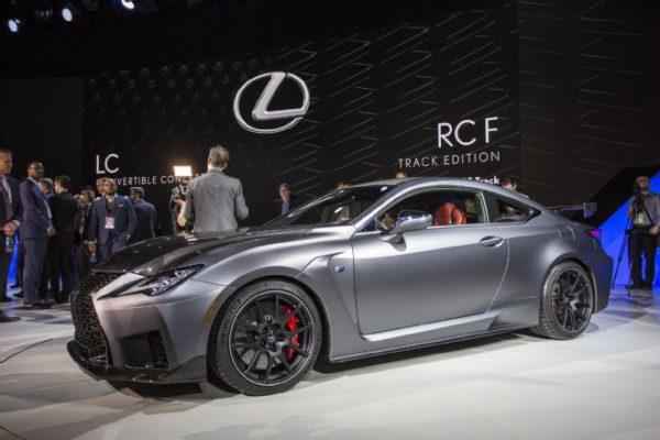 Lexus RC-F Track Edition présenté au salon de Detroit 2019