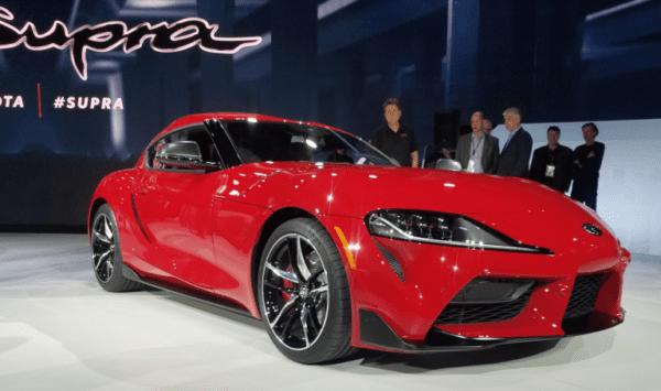 Toyota Supra 2020 présentée au salon de détroit 2019 crédit photo consumer guide