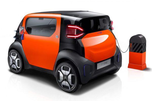 Borne de recharge électrique Citroen Ami One
