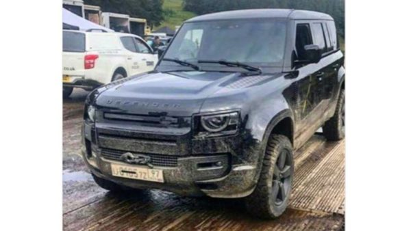 Les premières images du nouveau Land Rover Defender 2020