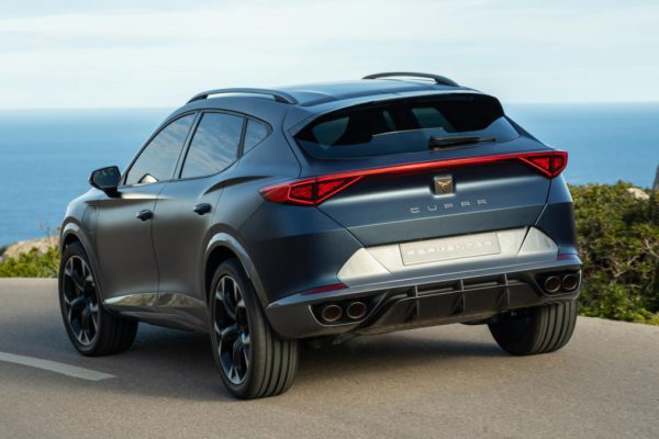 SUV de performance Cupra Formentor à venir en 2020