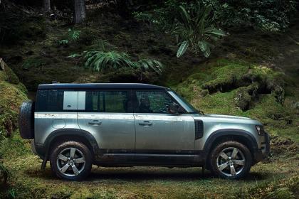 L'ensemble le plus doux sur le thème du tout-terrain comprend des garde-boue et une protection pour le passage des roues, ainsi qu'un système de rinçage sous pression.