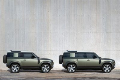 Côté Défender Land Rover