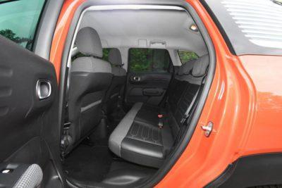 Citroen C3 Aircross - sièges arrière