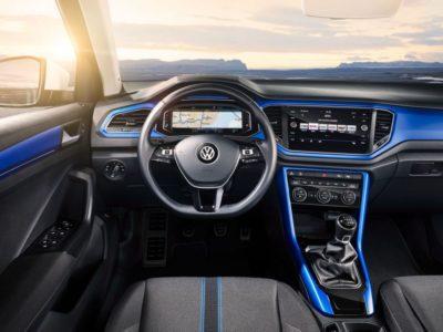 Volkswagen T-Roc R - tableau de bord