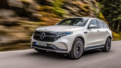 Mercedes EQC - avant