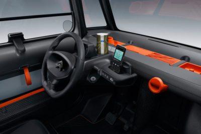 Citroën ami - tableau de bord